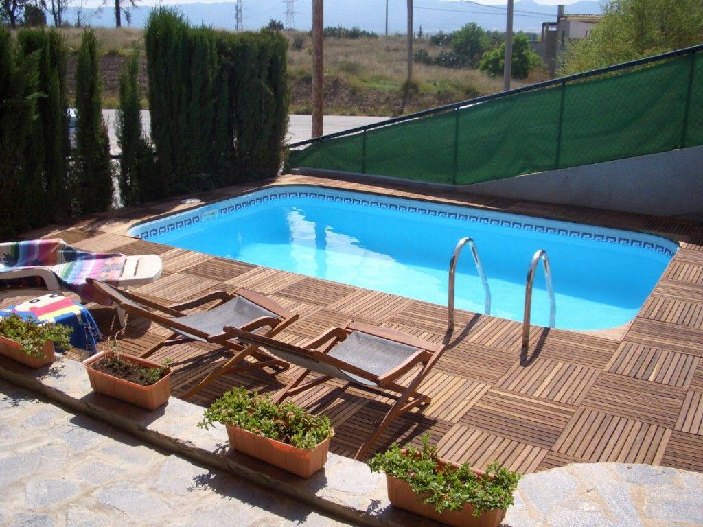 piscina limpia