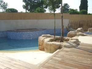 piscina de hormigón